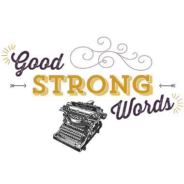 Good Strong Words Logo Featured